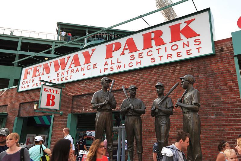 Fenway Park statues