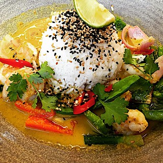 #prawn raisukaree #yummy #food #foodstagram #lunch #bahrain #wagamama #restaurant