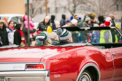 2015 UWGB Holiday Parade Float