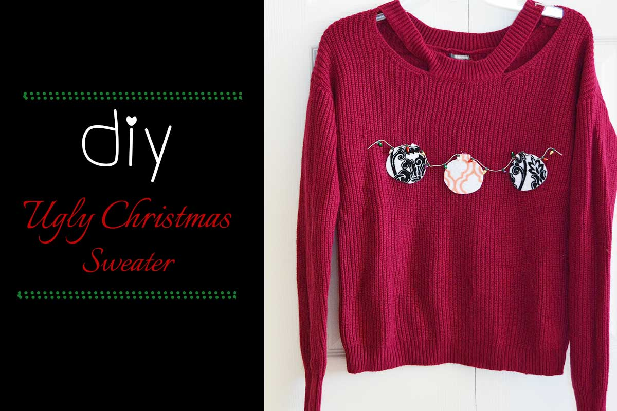 DIY Ugly Christmas Sweater: The Chic Way!