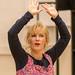 Gail Watson in rehearsal