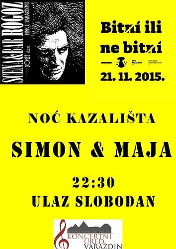 Simon & Maja za Noć Kazališta