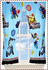 Nintendo Wii Super Mario Kart 8 Window Panels Curtains Drapes Kids Bedroom Boys: http://dlvr.it/D3Xbz9