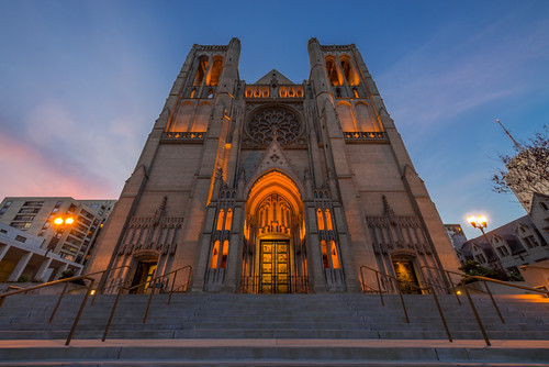 A Night at Grace Cathedral