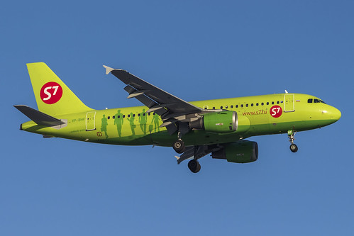 Airbus A319-114 VP-BHF S7 - Siberia Airlines