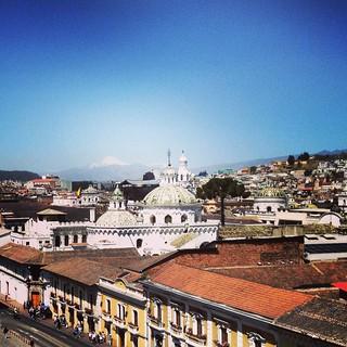 Ecuador Quito City Landscapes
