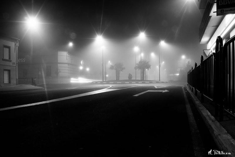 Santa Maria del Páramo: Noche de Niebla - El Cruce I