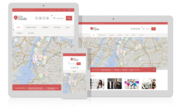 Ait-Themes City Guide  v2.53 – Directory WordPress Theme