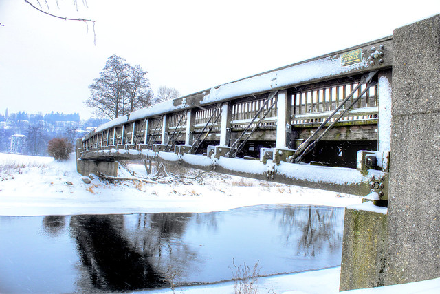 Die weisse Brücke - The white bridge
