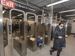 First Riders Aboard the Second Avenue Subway