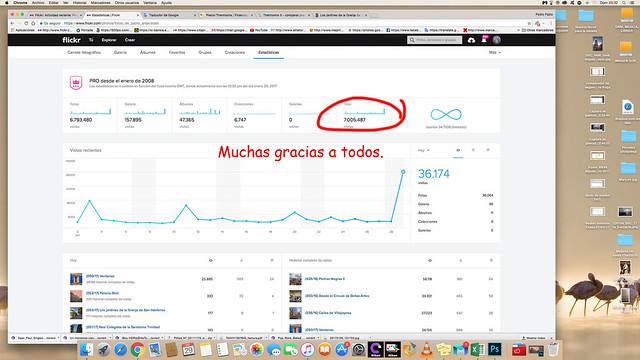 Más de 7.000.000 de visitas