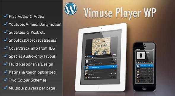 Vimuse WordPress Plugin free download