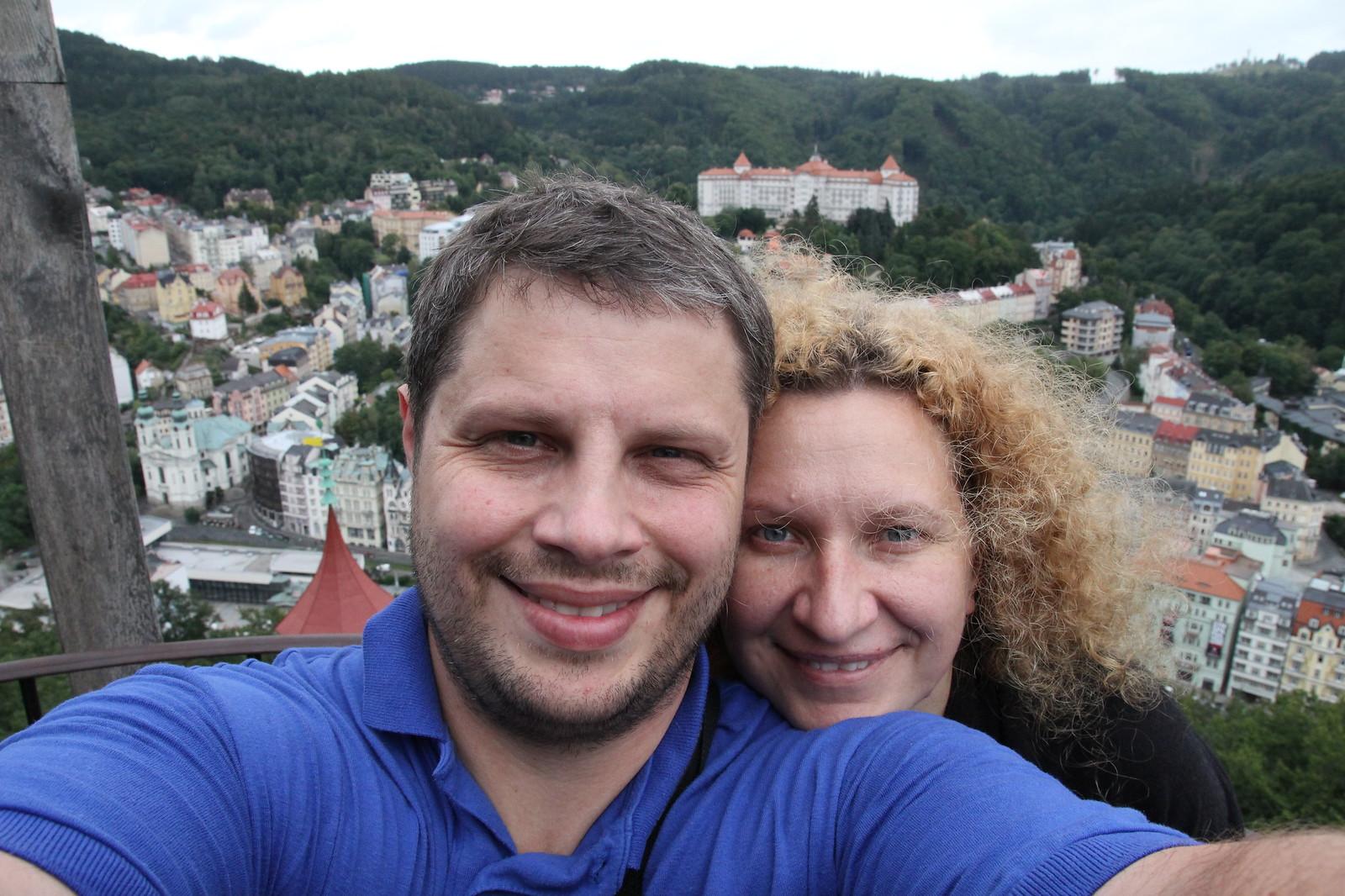 Tada nuvažiavom į Karlovy Vary.