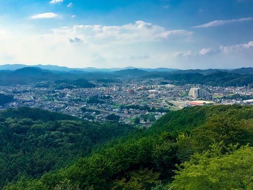 仙元山見晴らしの丘公園からの眺め