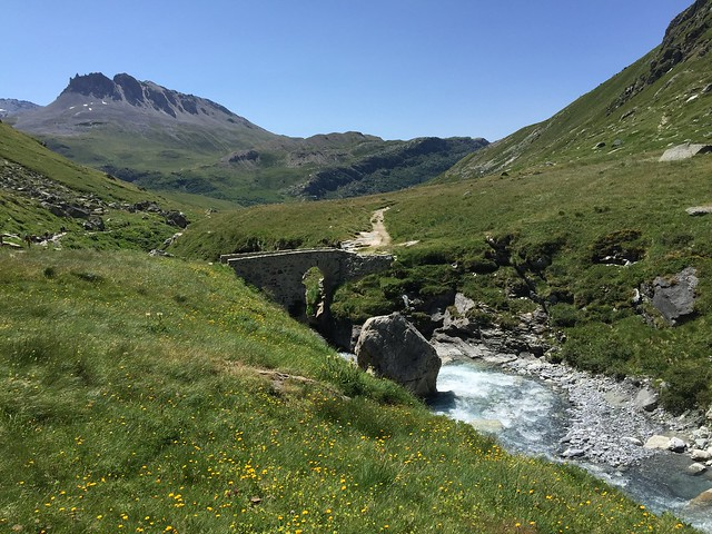GR5 pont de Croë-Vie
