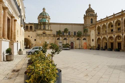 city italy church town europe cathedral sicily mazaradelvallo