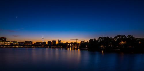 Sunset on Alster