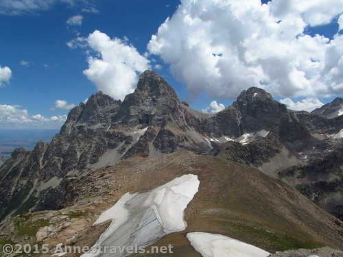 The Tetons from Table Mountain, Jedediah Smith Wilderness Area, Wyoming