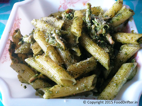 Pasta In Pesto At Cloud Street