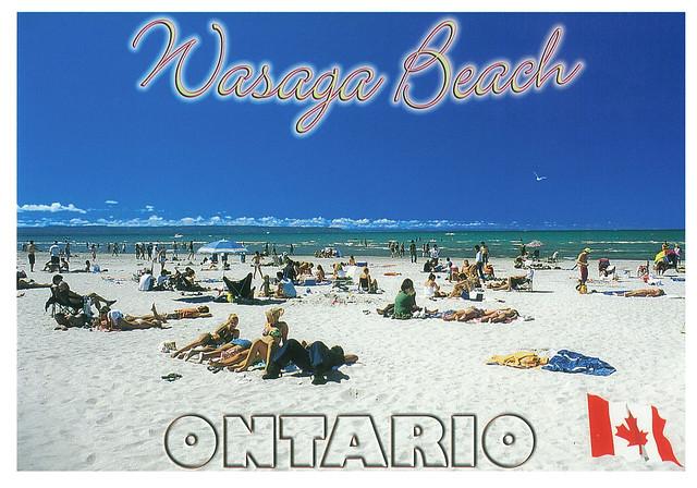 Ontario - Wasaga Beach - beach