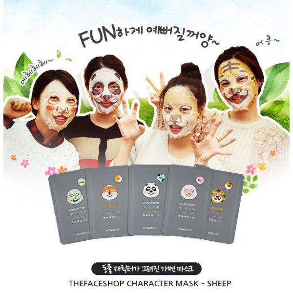 the-faceshop-character-mask-sheet-1