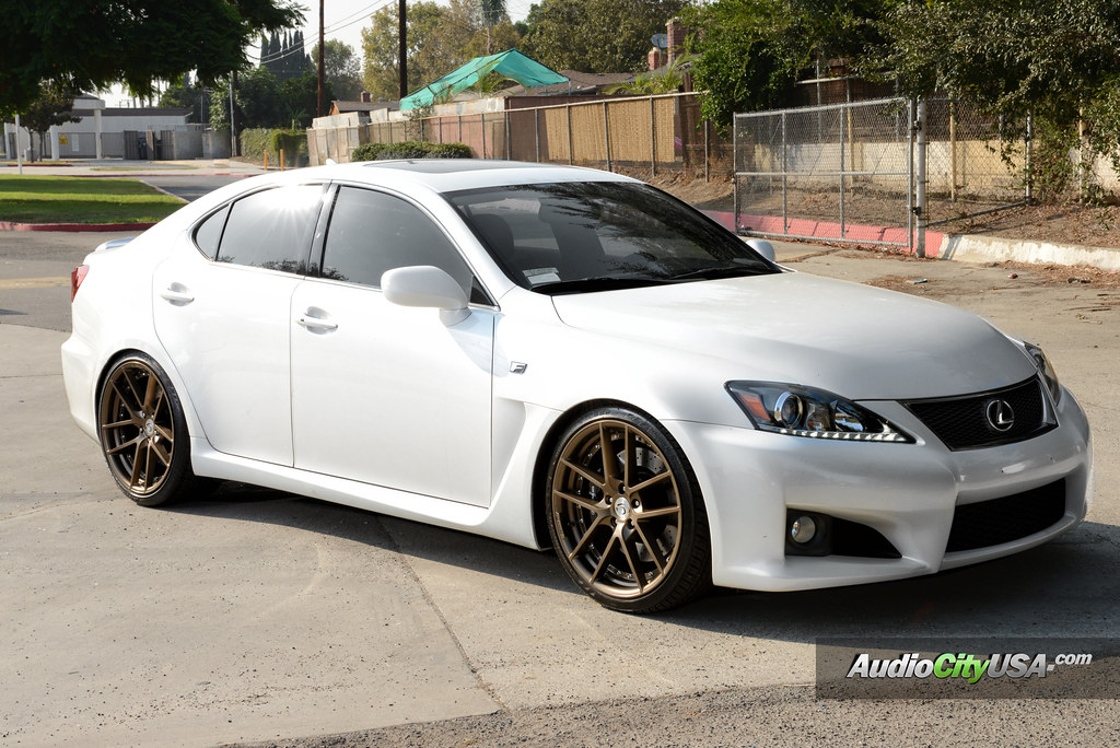 2012 lexus is 350 f sport on 20 gianelle wheels monaco. Black Bedroom Furniture Sets. Home Design Ideas
