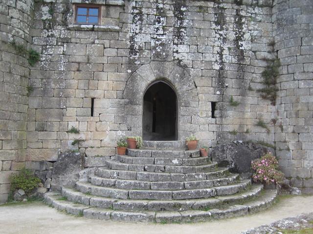 Castillo de Sobroso en Mondariz