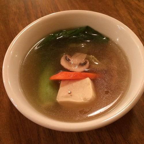 Mixed vegetable soup #yegfood