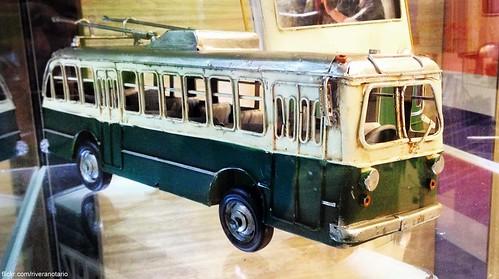 Trolleybus de Valparaíso, decorativo