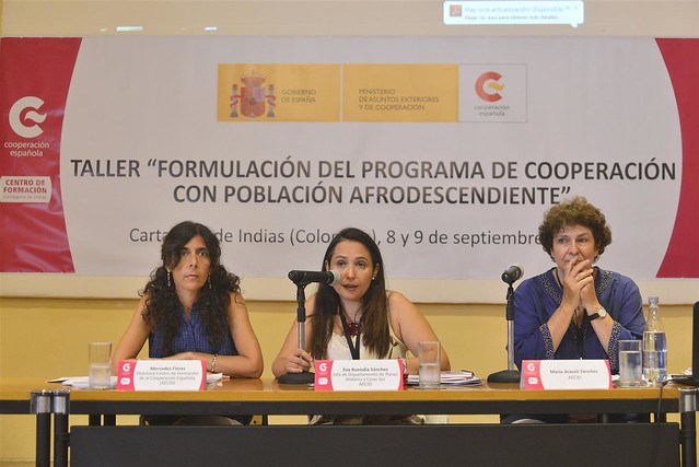 Taller de Formulación del Programa de Cooperación con Población Afrodescendiente