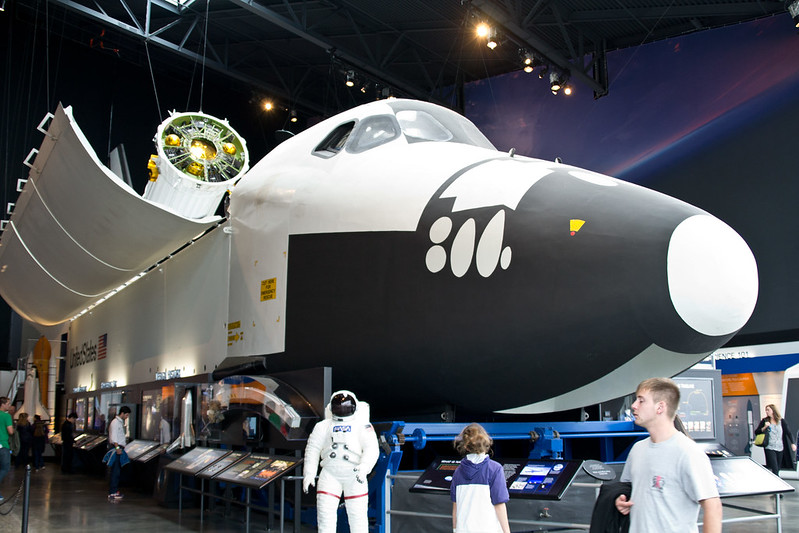 Charles Simonyi Space Gallery @ The Museum of Flight, Seattle WA