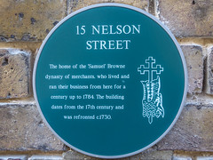 Plaques around the UK