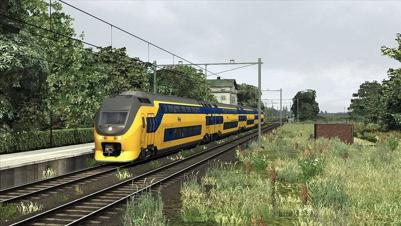 Train Simulator VIRM Vlissingen roosendaal zeeuwse lijn