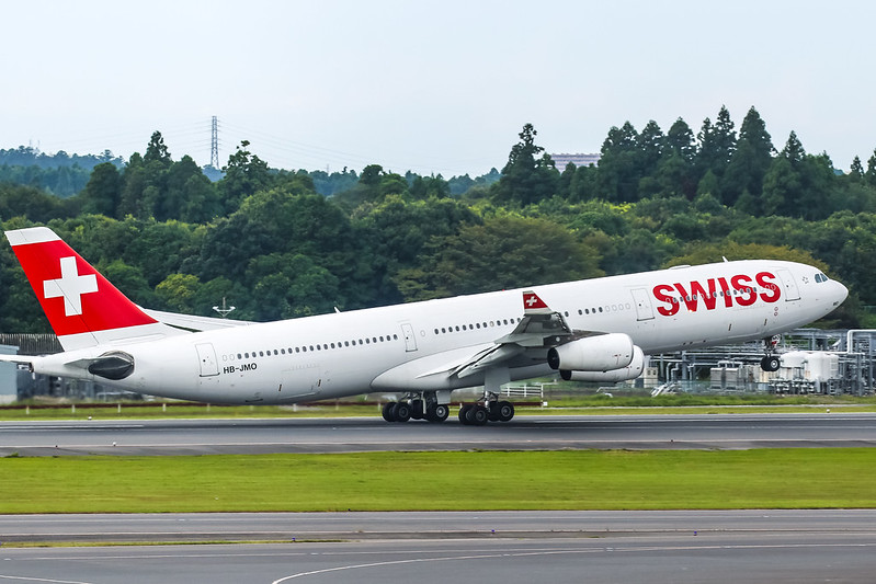 HB-JMO Airbus A340 340-313X Swiss International Airlines CFM56-5C4