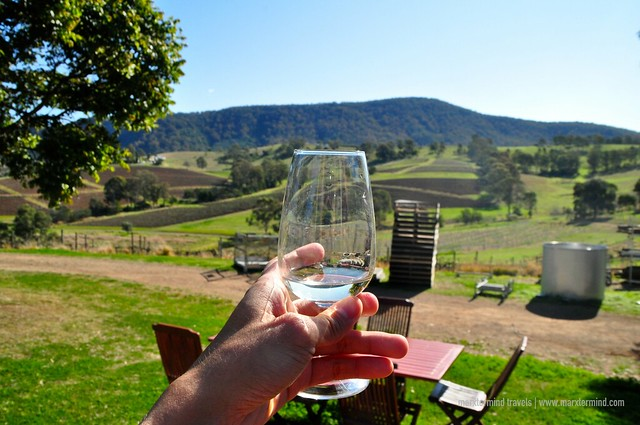 Wine at Mountain View Estate Hunter Valley
