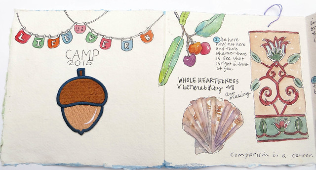 little journal from LIAV camp