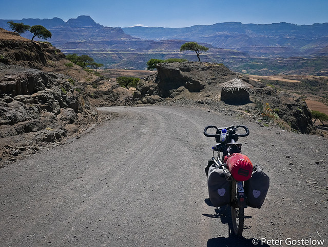 Descent from Lalibela
