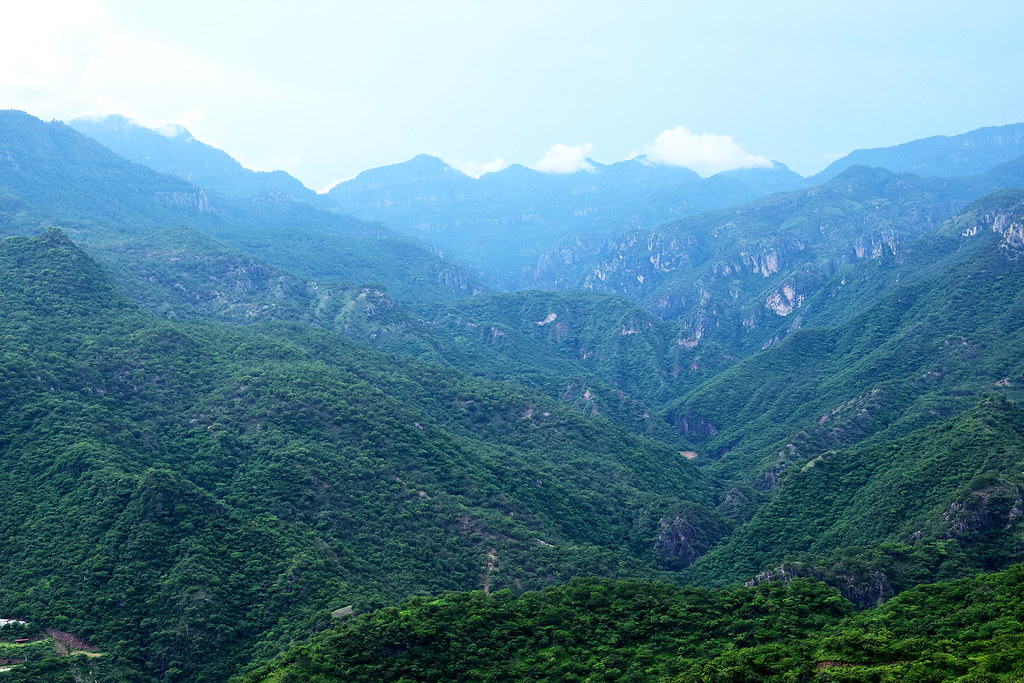 A view of the Sierra Madre