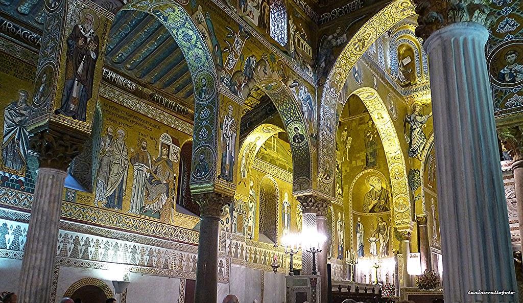 Palermo - Cappella Palatina (particolare)