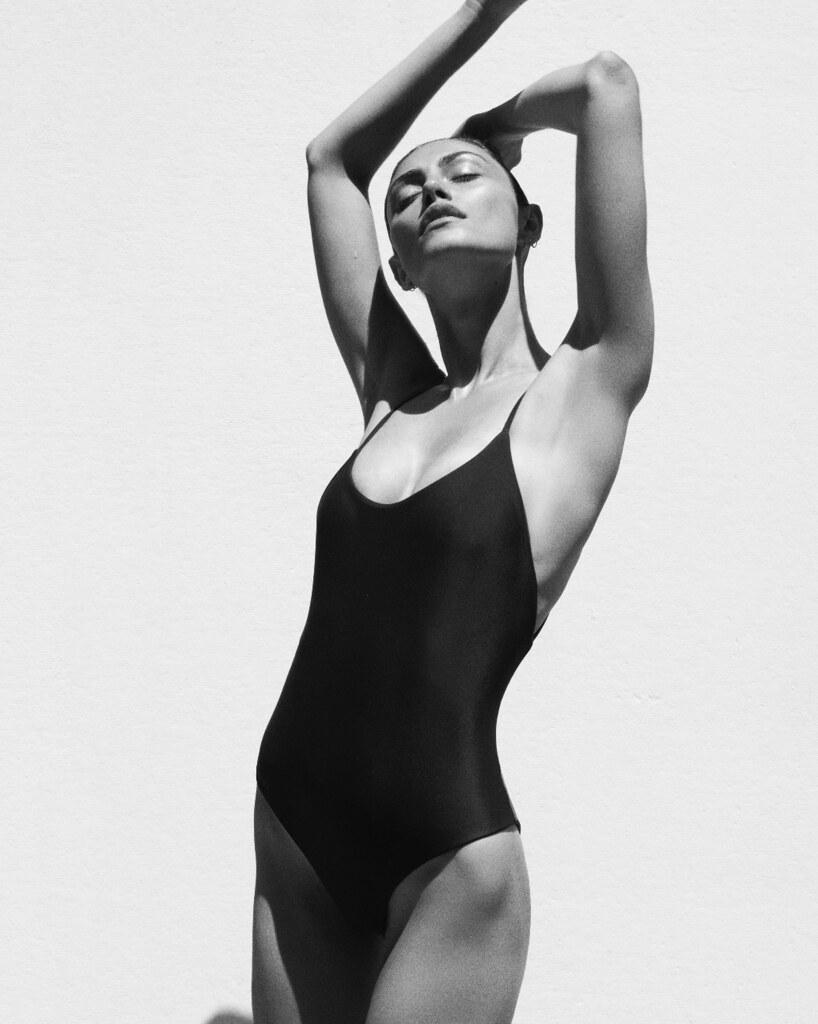 Фиби Тонкин — Фотосессия для «Matteau Swim» 2015 – 1
