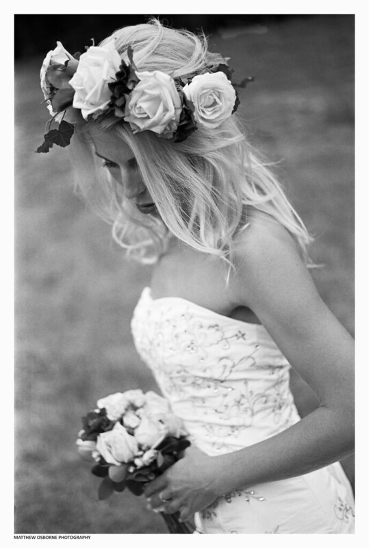 Black and White Bridal Shoot