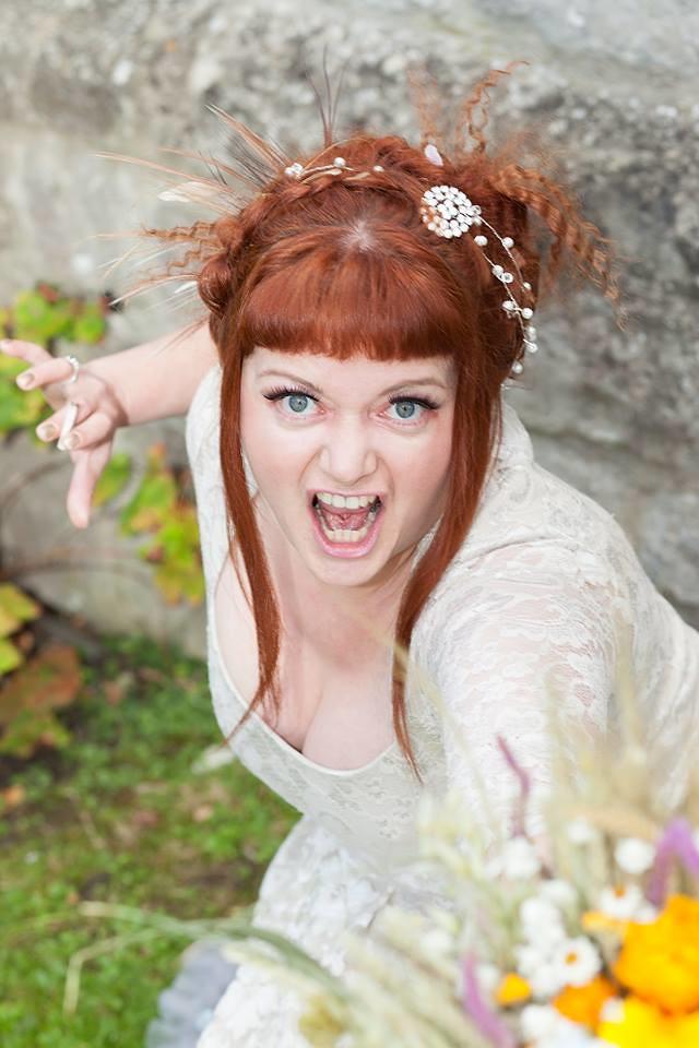 Pagan bride roars
