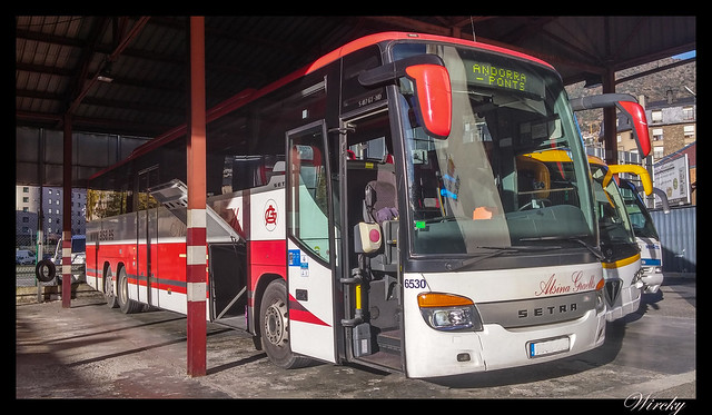 Autobús Andorra-Ponts