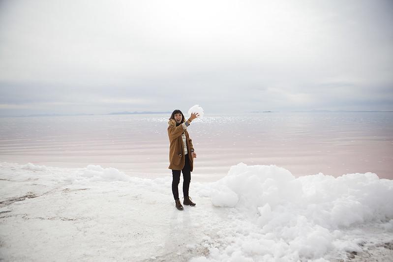 Spiral Jetty & The Great Salt Lake