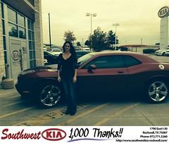 #HappyBirthday to Allison from Steve Kravetz at Southwest KIA Rockwall!