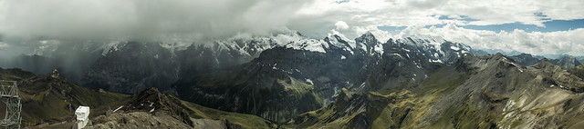 Mountains from Schilthorn