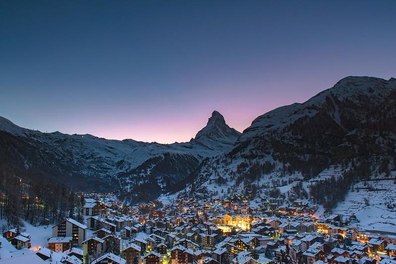 Dusk - Zermatt