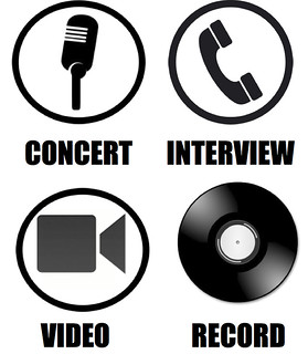 Concert Interview Record Video icon