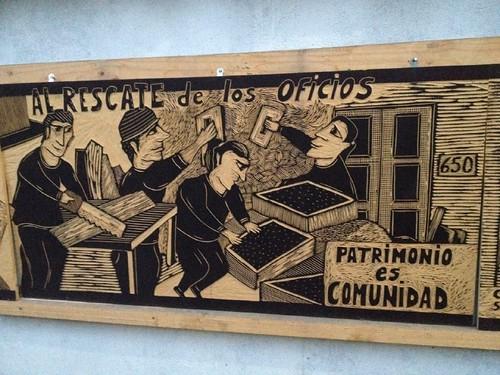 Museo Yungay panel 3