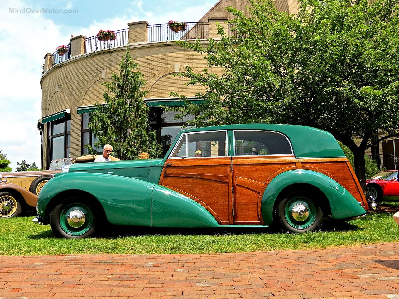 Bentley Mk6 Woody at Hershey 3